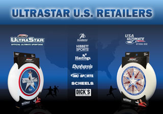 Discraft UltraStar US retailer chains